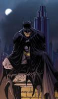 Benitez Batman colors by RCarter