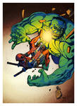 Deadpool vs Hulk v1