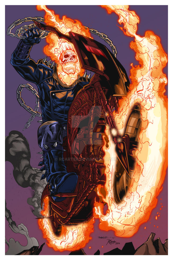 Ghost Rider by RCarter