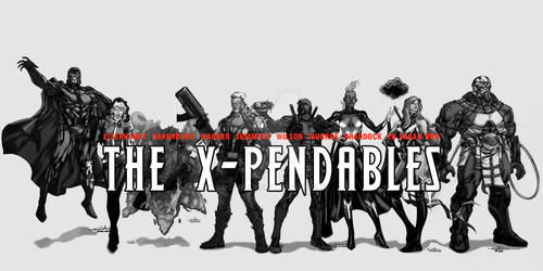 WIP the X-Pendables blkwht 02