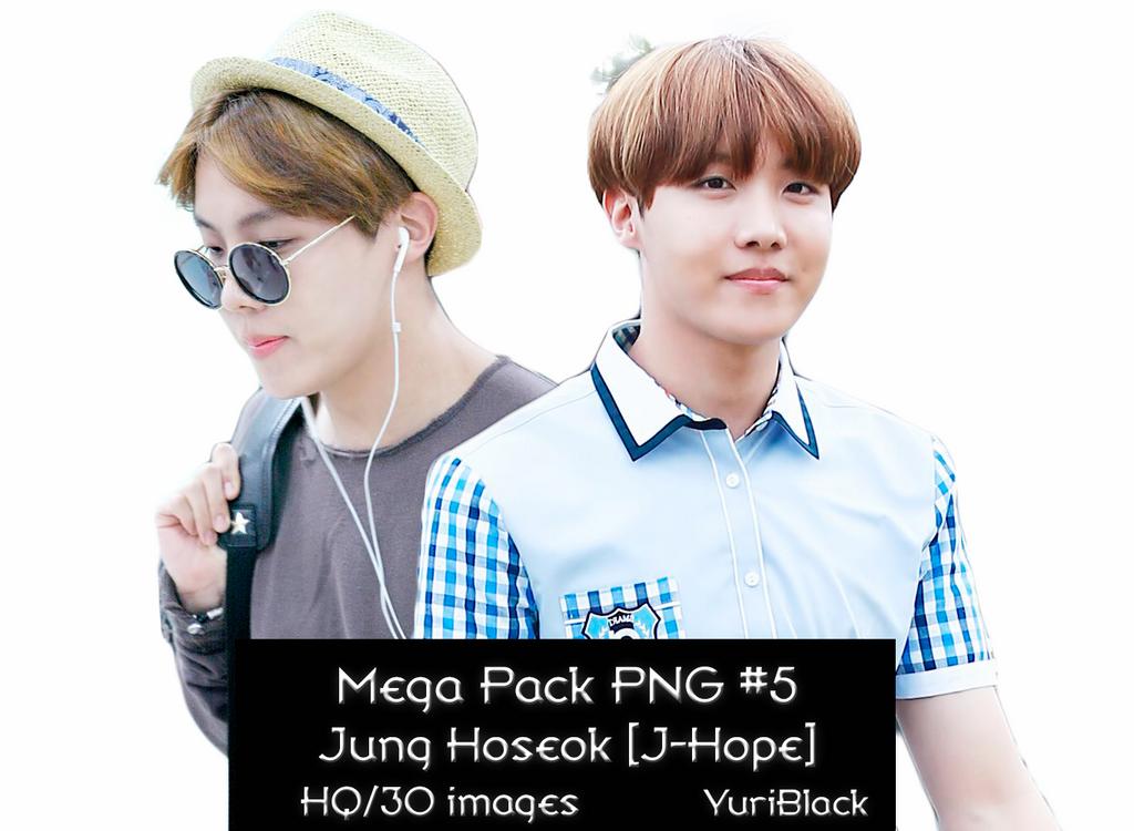 Mega Pack PNG #5 - J-Hope by YuriBlack