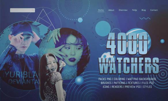 PACK 4000 WATCHERS   YuriBlack