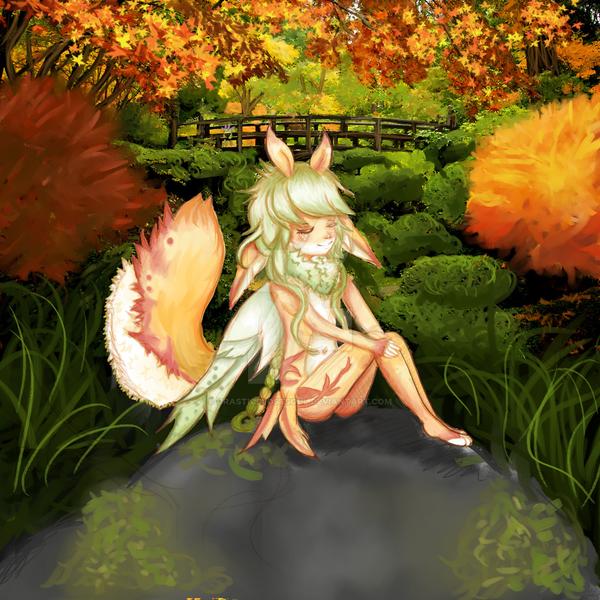 Autumn child by drasticslostsoul