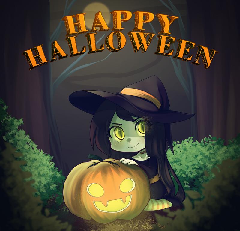 Happy Halloween by RileyAV