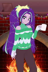 Aria Christmas Sweater Commission