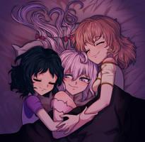 symphogear cuddles commission