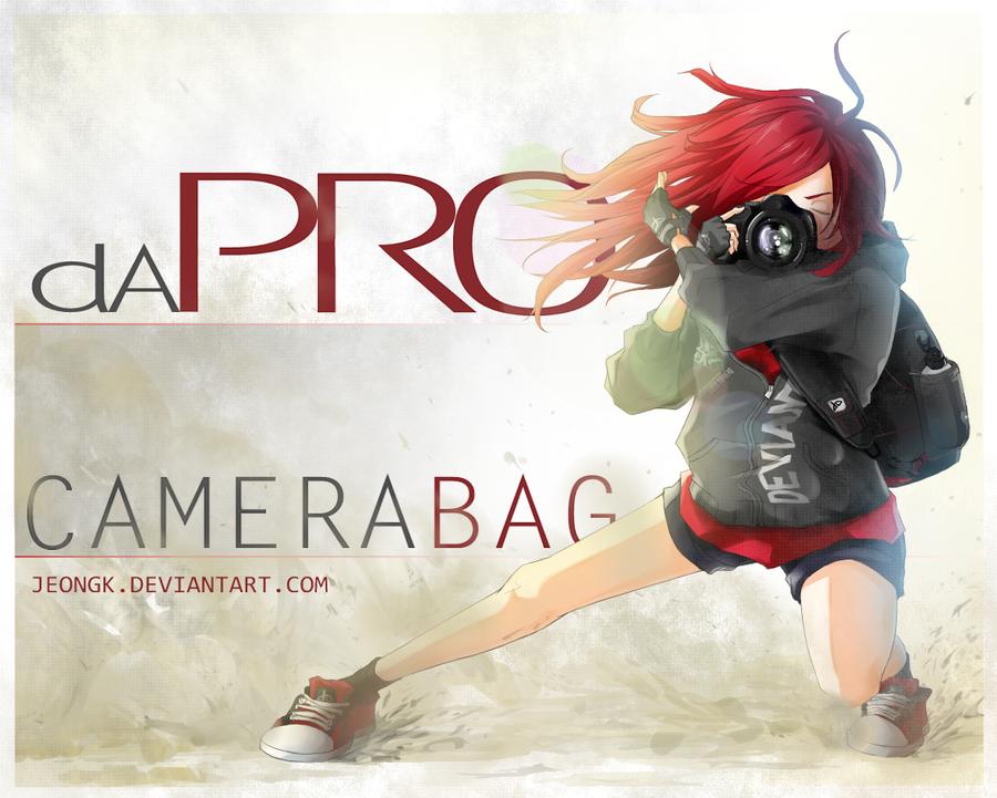 dA PRO Camera Bag by Jeongk