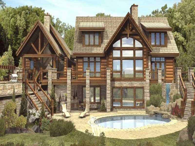 Amazing Log Cabin Building Plans By Galiux13 On Deviantart
