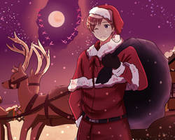 [APH] Merry Christmas by VIV-I