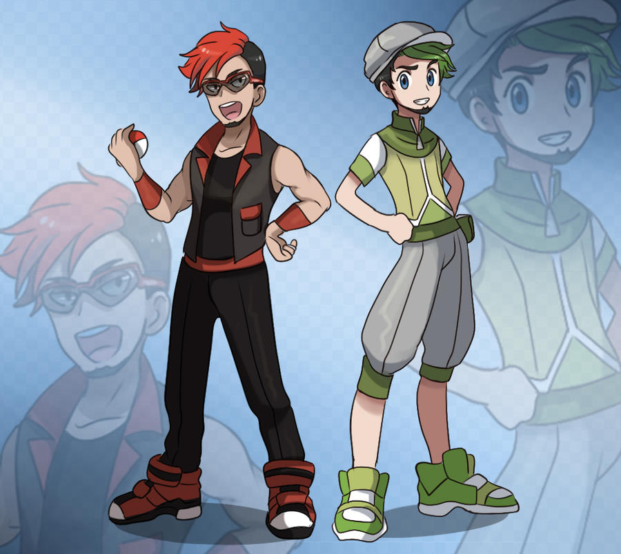 Pokemon Trainers by VIV-I