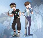 Pokemon Trainers II by VIV-I