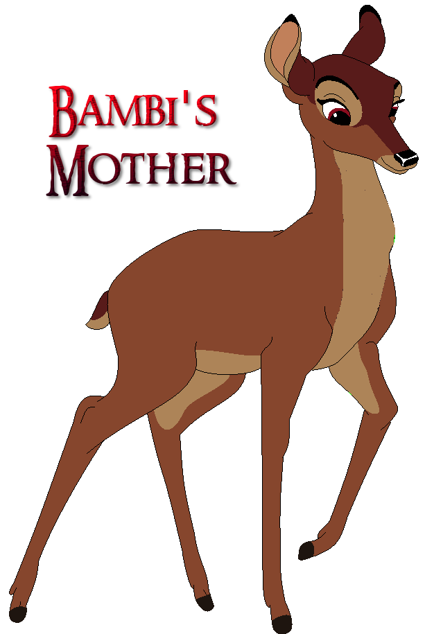 bambis mother by ladyjade26 on deviantart