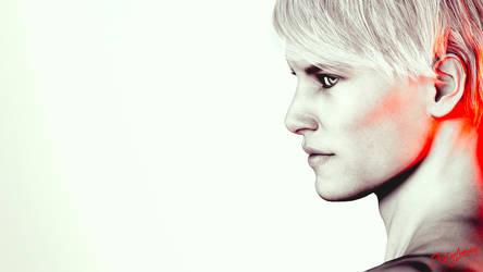 Atomic Blond by ZestyLimey
