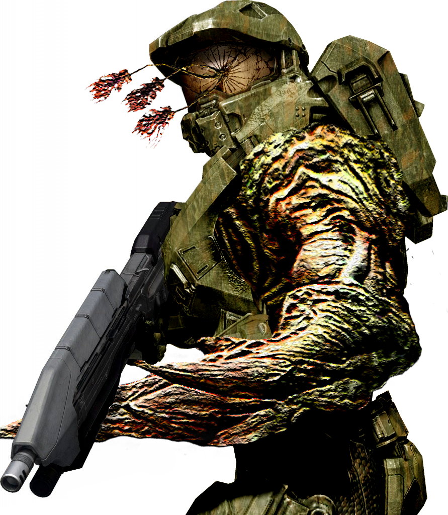 Halo 4 Flood Spartan by bulletreaper117 on DeviantArt