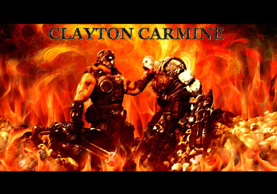 Clayton carmine wallpaper by bulletreaper117 on deviantart - Gears of war carmine wallpaper ...