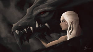 Mother of dragons by Un-Frozen