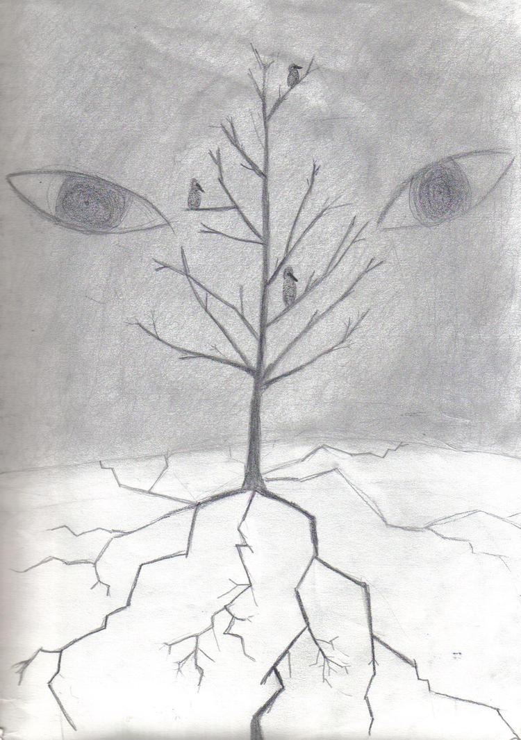 Tree of Darkness by GoddessSpiritwolf