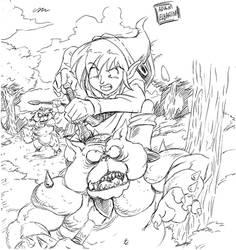 Link's Adventure by jmatchead