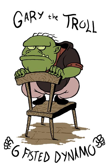 Gary the Troll by jmatchead