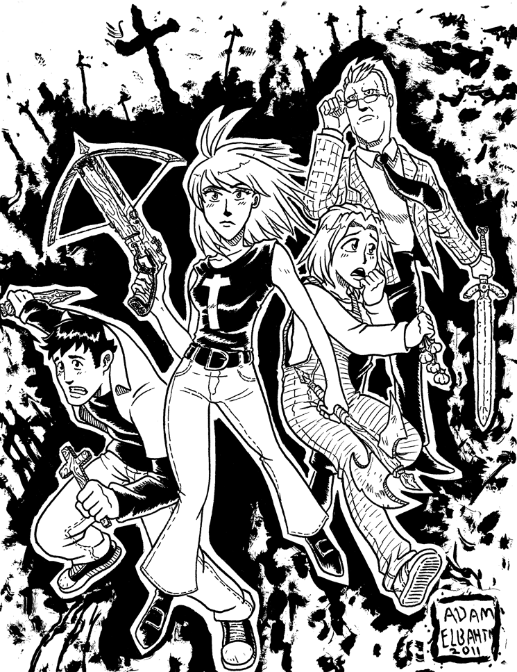 Manga buffy by jmatchead on deviantart for Buffy coloring pages
