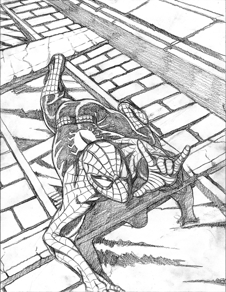 Spider-man pencils by jmatchead