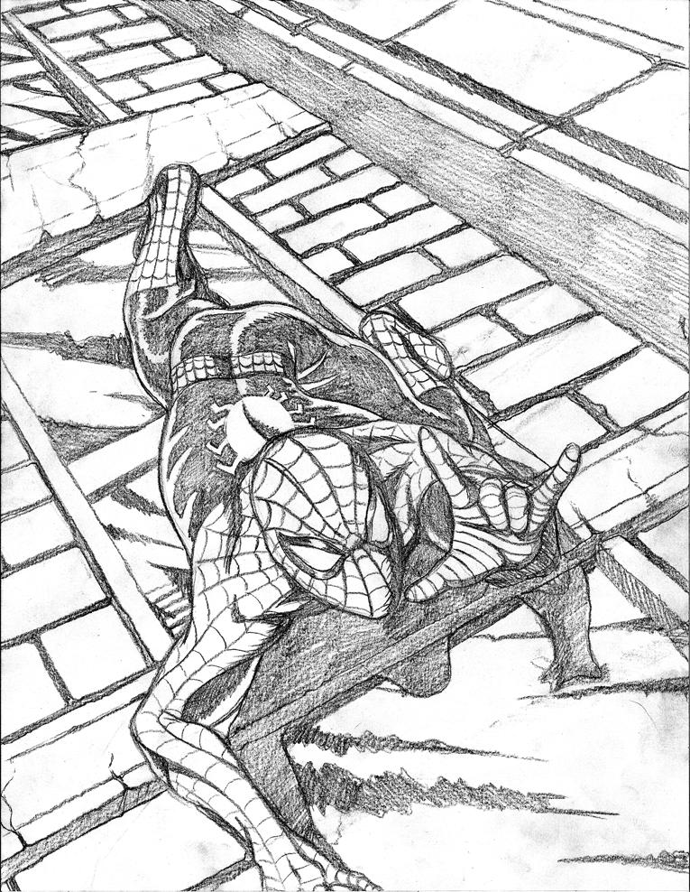 Spider-man pencils by jmatchead