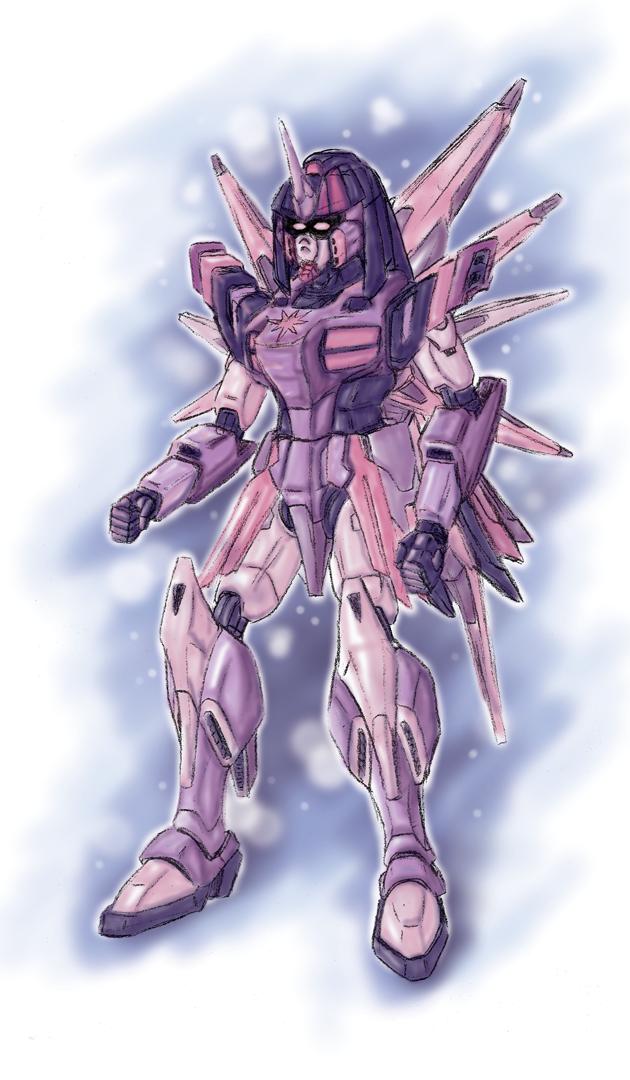 MLP- 001 Gundam Twilight-S by jmatchead