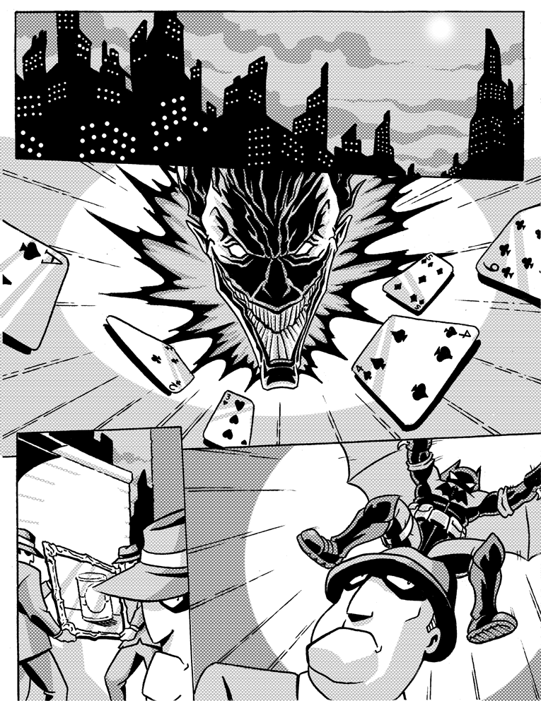 Holy Introduction, Batman! by jmatchead