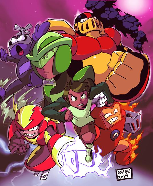 AtomMan Poster by jmatchead