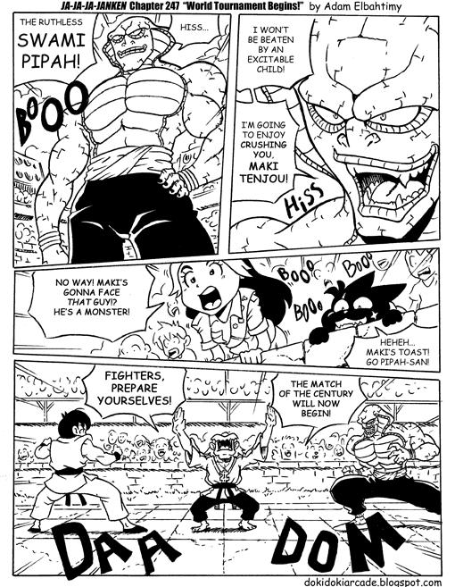 Satuday Morning Anime - Ja-Ja-Ja-Janken by jmatchead