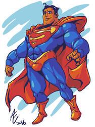 Superman Redesign by jmatchead