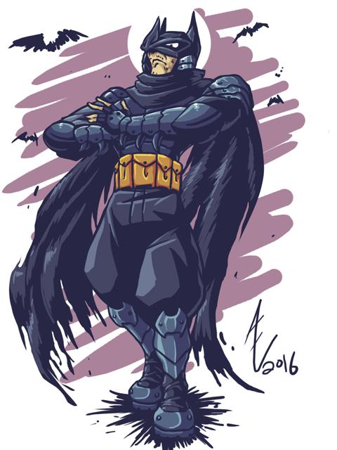 A Batman Redesign by jmatchead