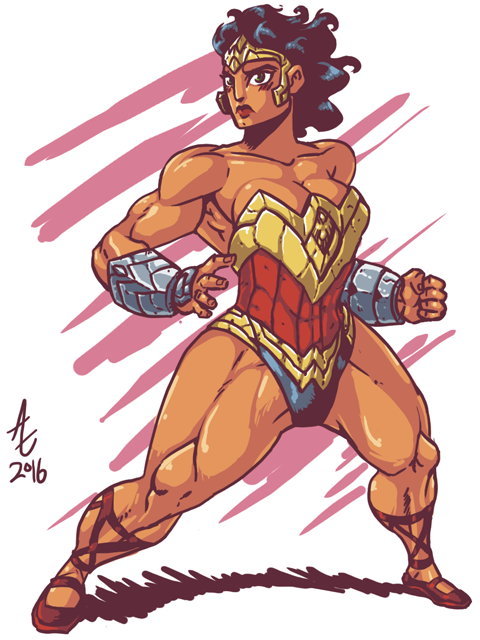 WonderWoman Redesign by jmatchead