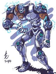Cyborg Redesign by jmatchead