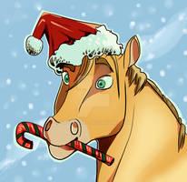 Happy Holiday Horse
