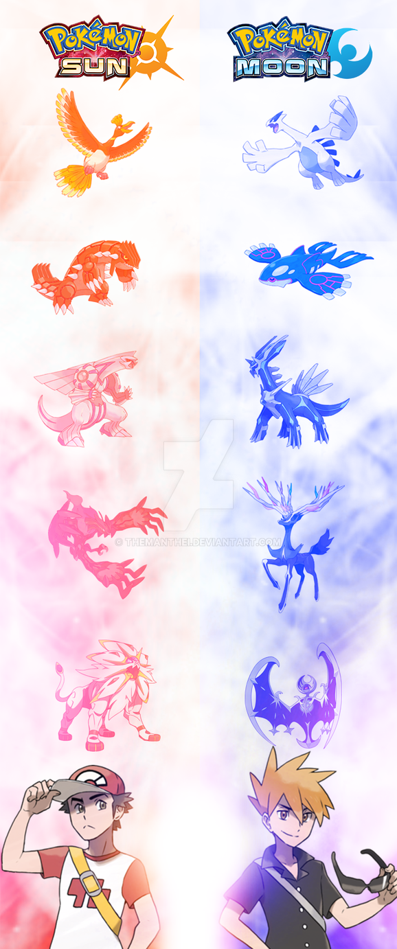 A legendary Rivalry by TheManthei
