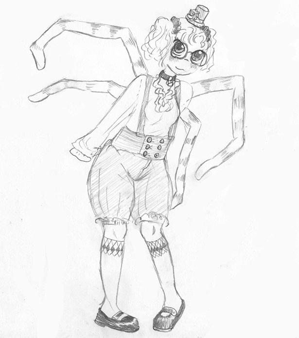 Knickerbocker Spider by Errorabbit