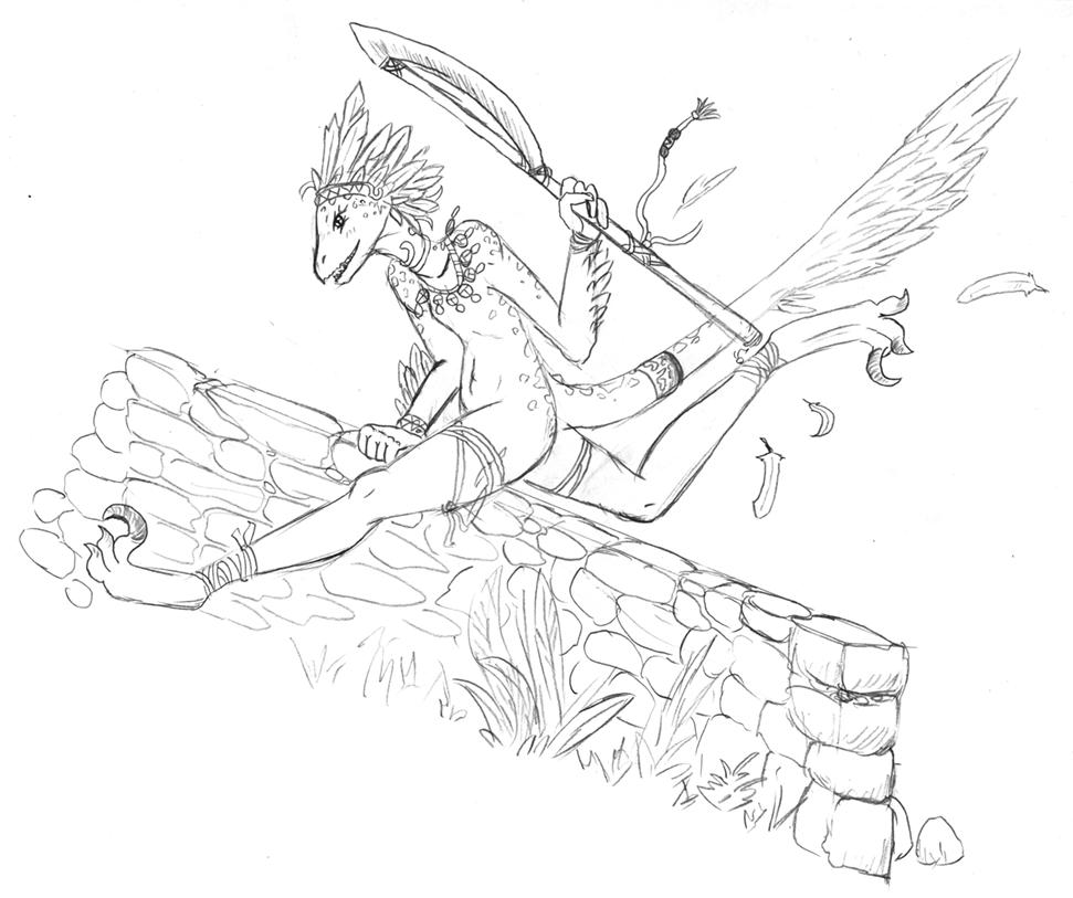 Raptoertchen by Errorabbit