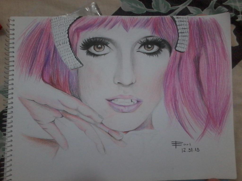 Lady Gaga by earllison