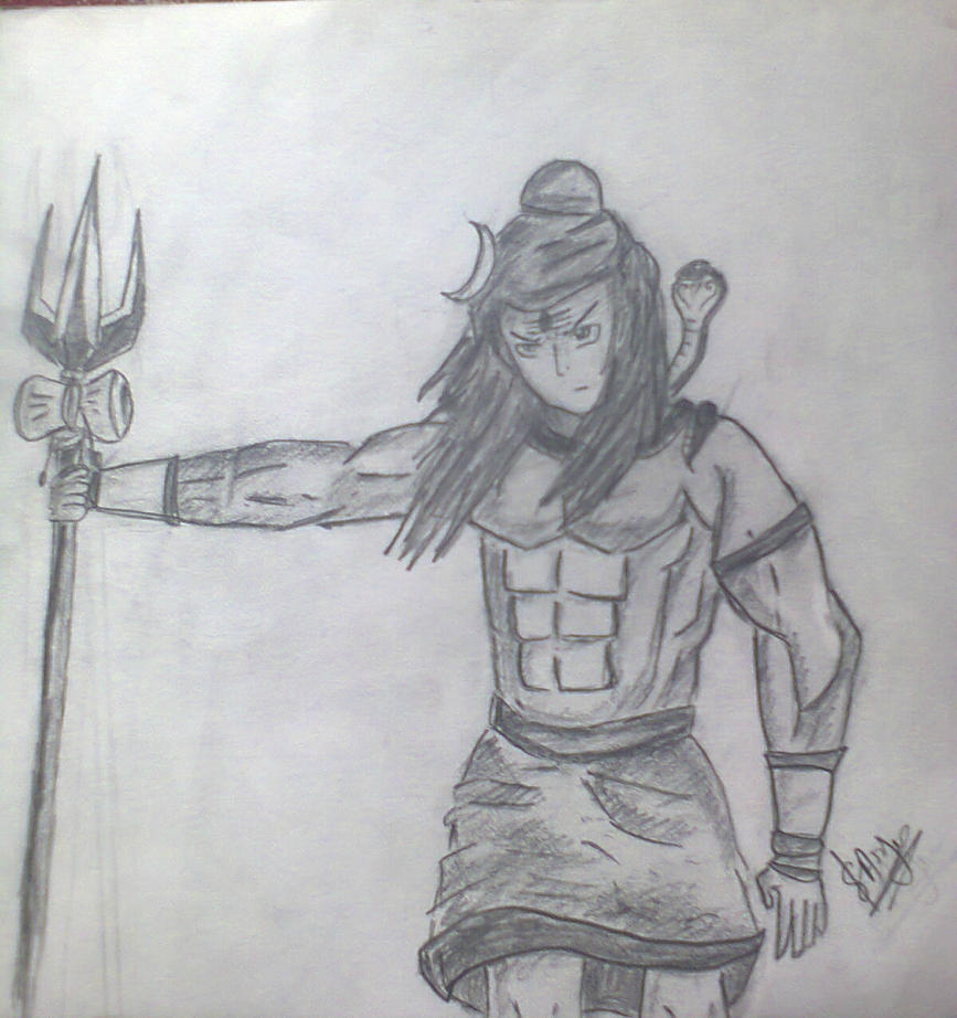 Lord Shiva Angry Lord shiva sketch lord shiva