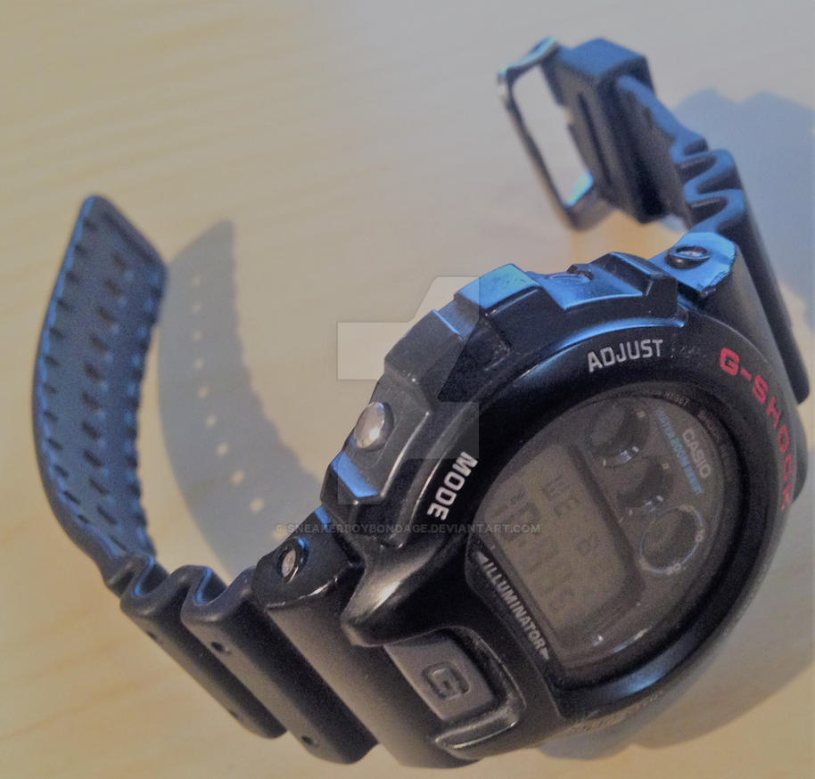 Used boys Casio G-Shock wristwatch. by SneakerBoyBondage