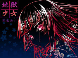 Jigoku Shoujo - Enma Ai by StrayShadow