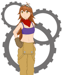 MSA Caroline by MysticalSkeleton