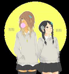 05-06. Momo and Hana