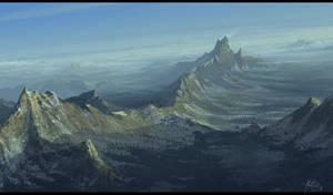 Mountain Range by matellis
