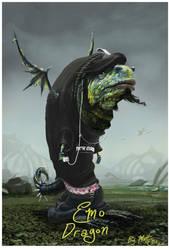 Emo Dragon by matellis