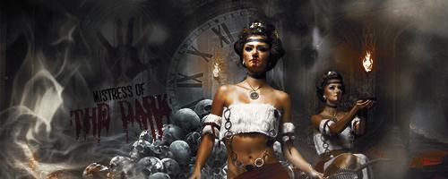 Mistress of the dark by IZHummingbird