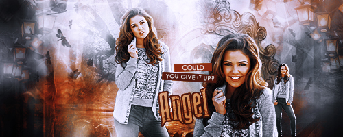 Danielle Campbell Signature by IZHummingbird
