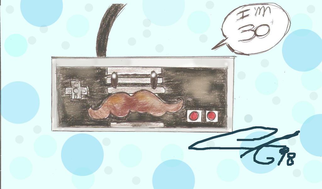Happy B-day NES!!! by Celineakira98