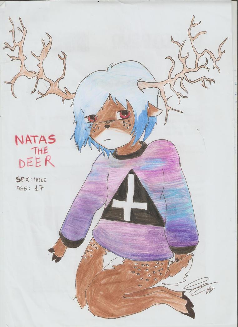 (OC) NataS The Deer by Celineakira98